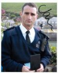 "John Marquez as PC Joe Penhale from Doc Martin signed  10"" by 8"""